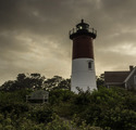 Nauset Light at Dusk